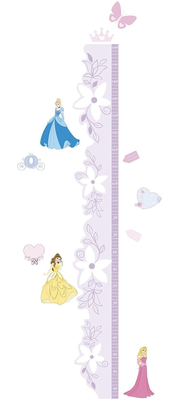 Crearreda 24103 - Metro Adhesivo (reposicionable, Vinilo y Polipropileno, 54 x 31 x 0,3 cm), diseño de Princesas, Color Rosa