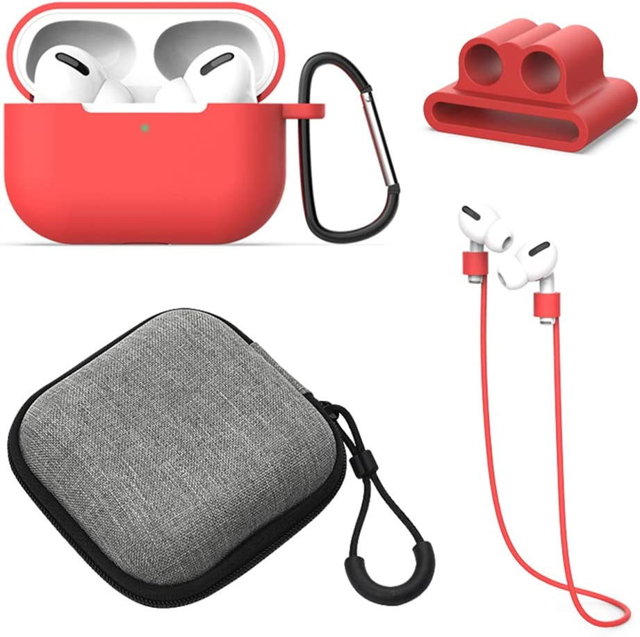360 degree Protective Silicone AirPods Accessories Kit Compatible w Apple AirPods 12 Charging Case 2019 Newest Chicken AirPods Case