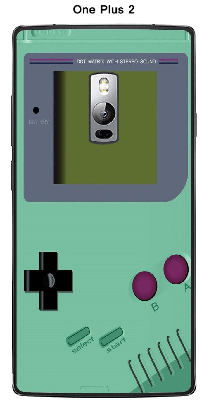 Carcasa Game Boy Lucite Green para One + One Plus 2: Amazon ...