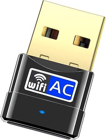 600Mbps Dual Band Wireless Network Card Computer Mini USB WiFi Adapter Rodalind