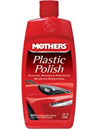 Mothers 06208 Plastic Polish, 8-Ounce