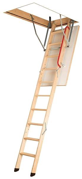 Ged/ämmte Bodentreppe Viele Gr/ö/ßen und Modellen LWK Komfort, 60 x 100 x 280 cm Speichertreppe Dachbodentreppe mit LXL Abdeckleisten