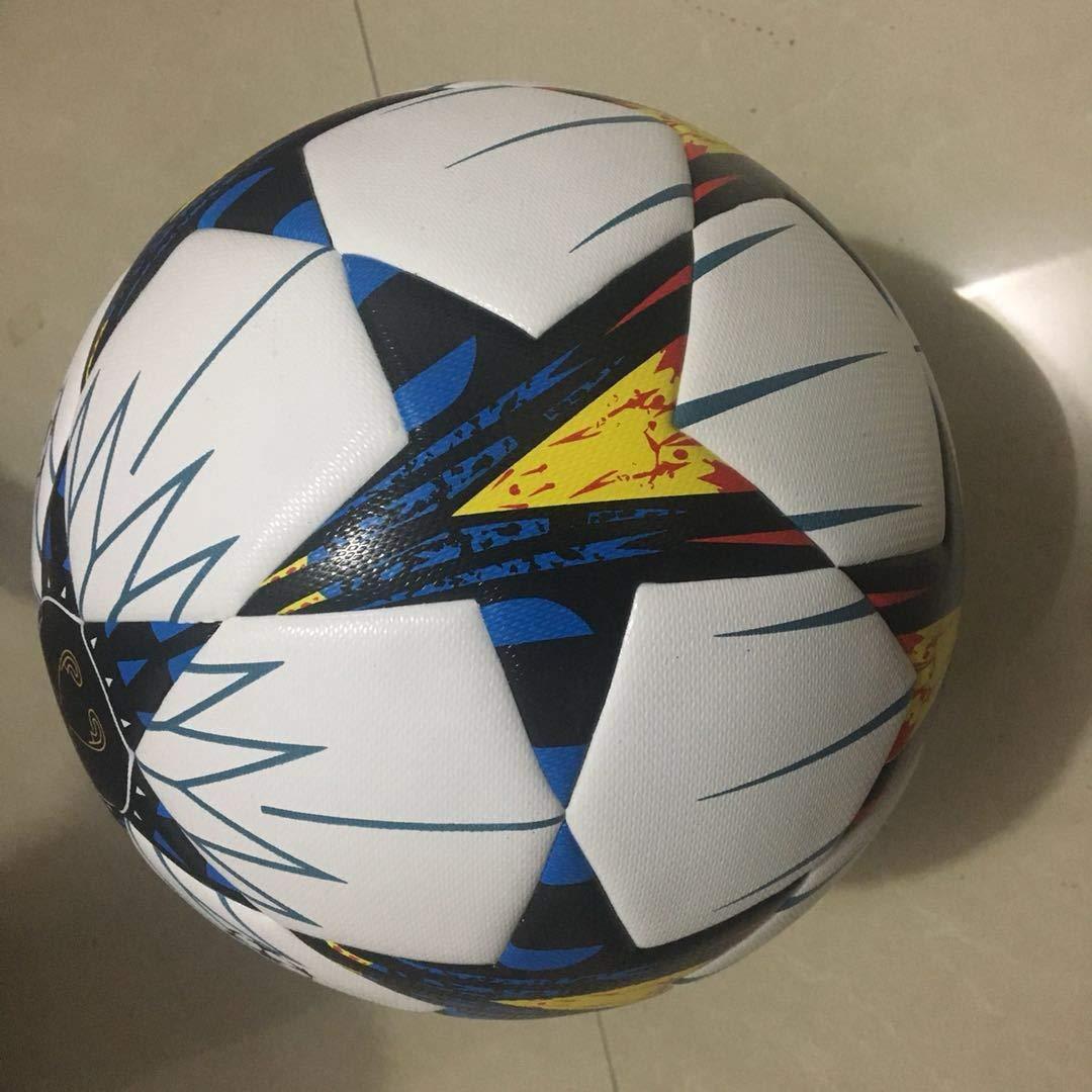 SIZHINIAN Tamaño de fútbol de la PU Suave Toque del balón de ...