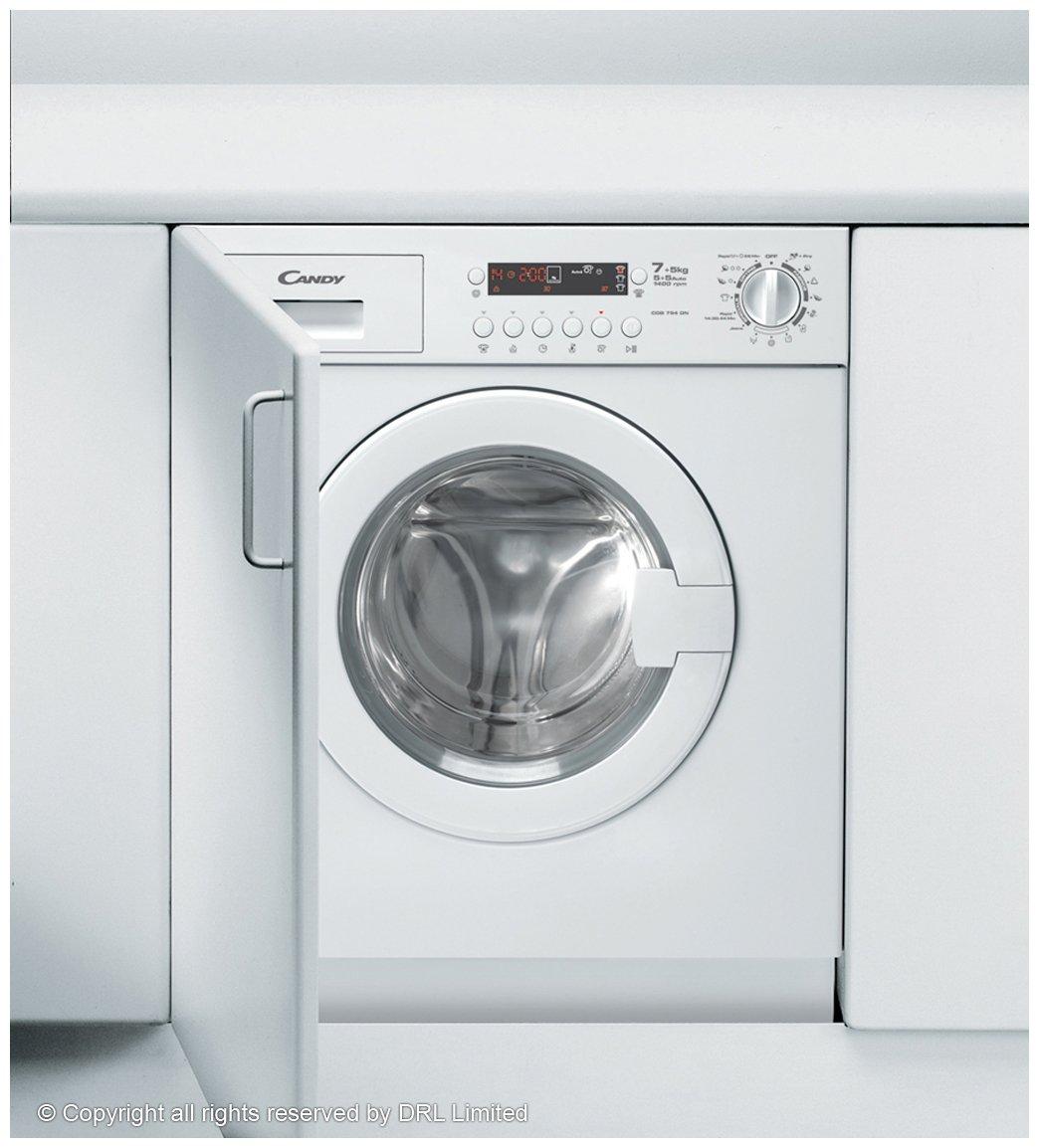 De Dietrich Kitchen Appliances De Dietrich Dlz693bu Washer Dryer Integrated Black Amazoncouk