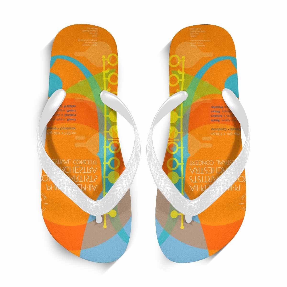 Chad Hope Mens Stylish Beach Casual Flip Flops Anti-Slip Slippers