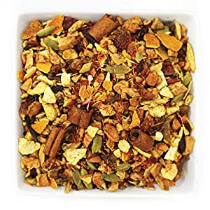 Tealyra - Spiced Wassail - Hibiscus - Cinnamon - Cardamom - Warm Herbal Loose Leaf Tea - Wellness Blend - Caffeine Free - 112g (4-ounce)