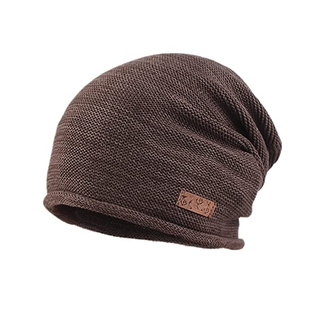 Kenmon Knit Hats Male Heap Cap Korean style Wool Caps Autumn and Winter  Outdoor Fashion Baotou c5aac5af004