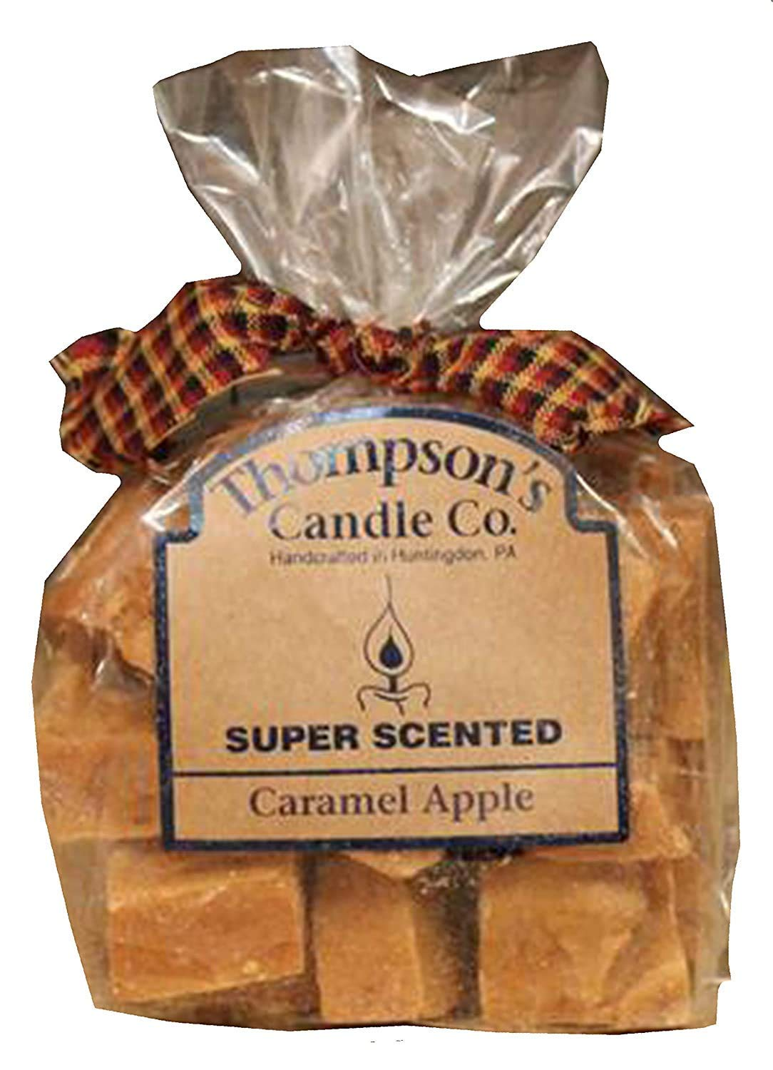 Thompson's Candle cacr Super Scented Caramel Apple Crumbles, 6 Ounce
