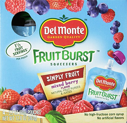 del-monte-fruit-burst-squeezers-simply-fruit-mixed-berry-128-oz-pack-of-4