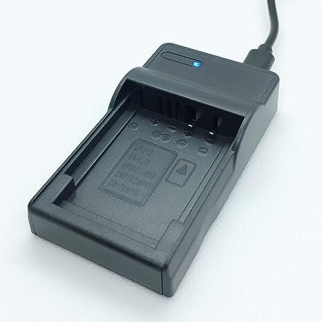 con micro USB Plug Rápido-cargador para Nikon Coolpix p300//p310 en-el12