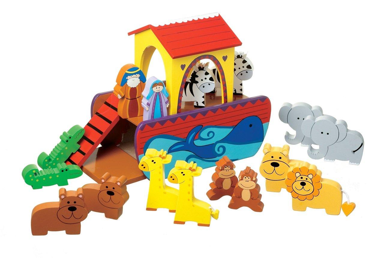 【オープニングセール】 Orange Orange Tree Ark Toys Small Noah's Ark Noah's B001E02EIG, 昇永堂:0416c755 --- a0267596.xsph.ru