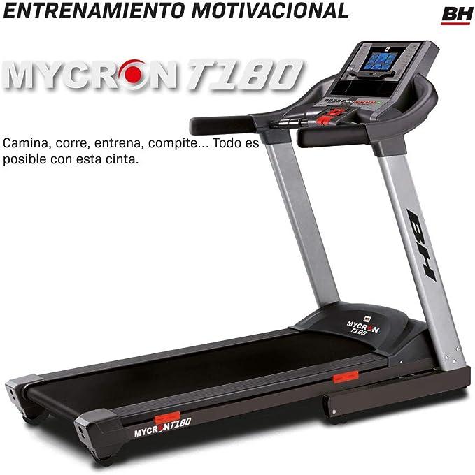 BH Cinta de Correr Mycron T180. Modelo Alta Gama.: Amazon.es ...
