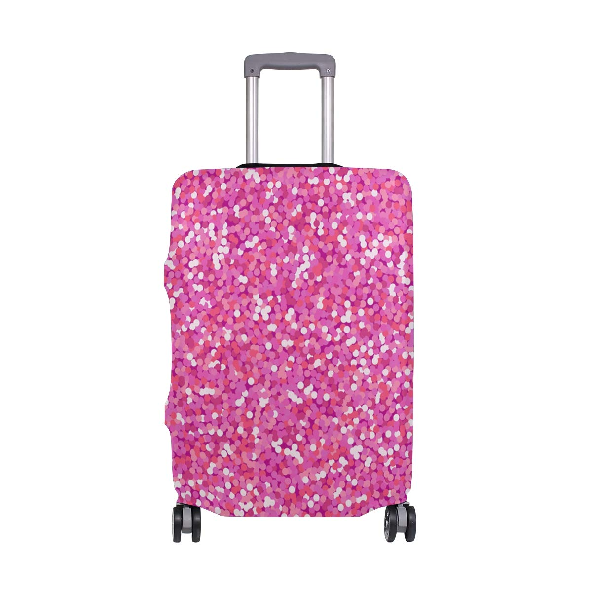 Pink Leather Jacket Traveler Lightweight Rotating Luggage Protector Case Can Carry With You Can Expand Travel Bag Trolley Rolling Luggage Protector Case
