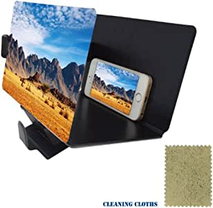 Amazon.com: Mobile Phone Screen Magnifier 3D HD Movie ...