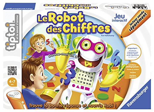image Ravensburger - 00739 - Jeu Tiptoi Electronique Educatif - Chiffres Robot