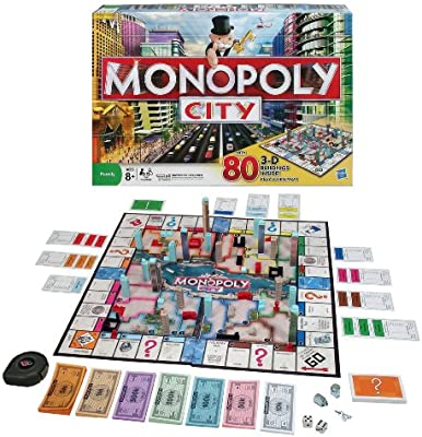 Hasbro Monopoly City Juego de Sociedad.: Amazon.es: Juguetes y juegos