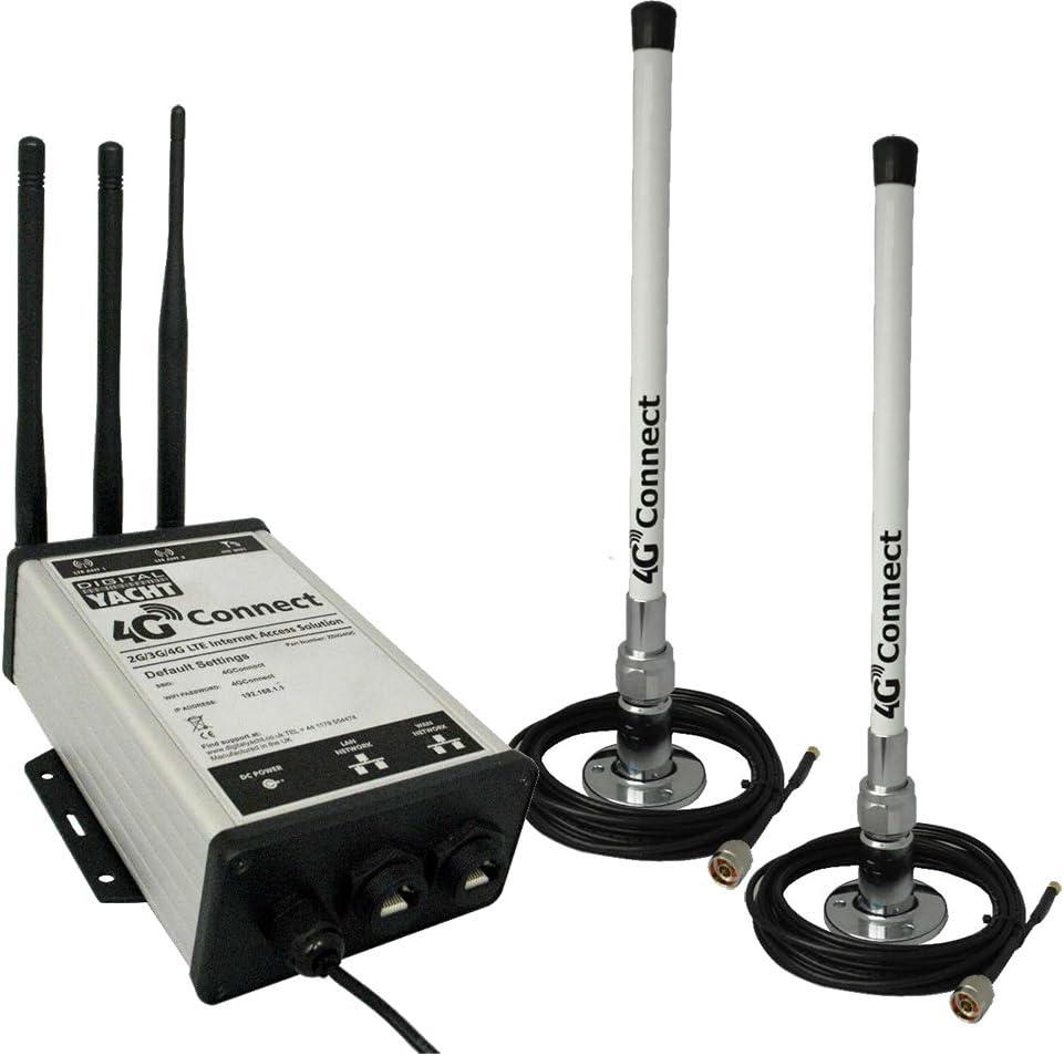 Digital Yacht 4G Connect Pro 2G/3G/4G Antena dual