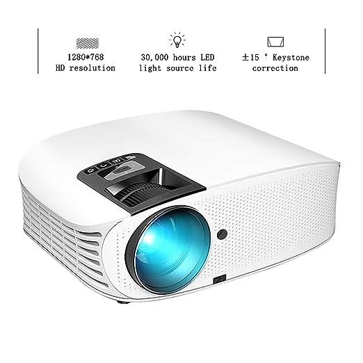 XRLTYY Proyector LED para el Hogar, Proyector de Video Portátil ...