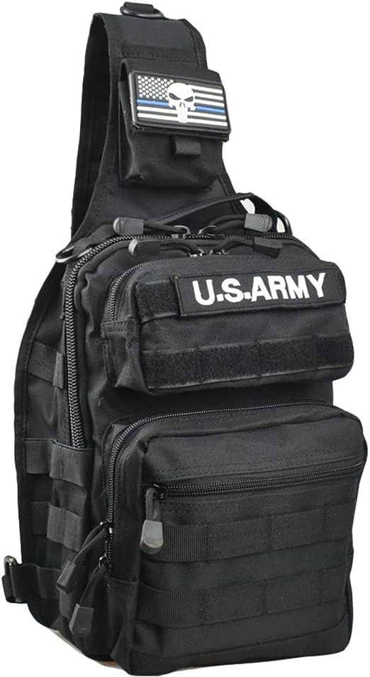 Tactical Sling Bag Pack Rover Shoulder Sling Backpack CrossBody Men Bag