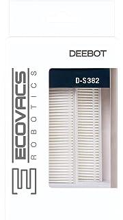 Ecovacs D-S382 Set de filtro polvo fino Plastic, Gris