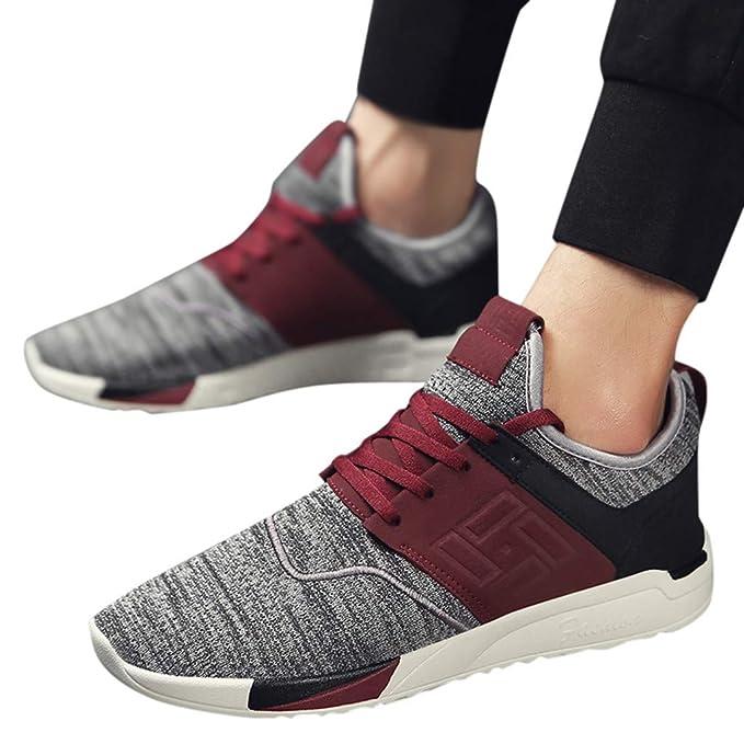 Zapatos Hombre Casuales ❤️Absolute Zapatillas de Deporte de Malla Transpirable para Hombre Zapatillas de Deporte Resistentes al Desgaste de Hombre Calzado ...
