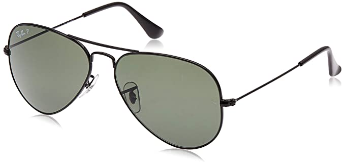 Ray-Ban - Gafas de sol Aviador RB3025 Aviator Large Metal, Black (schwarz)