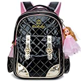 Best Barbie Book Bags - Ali Victory Waterproof PU Leather Backpack for Girls Review
