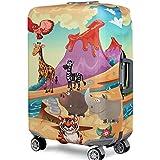 YianBestja Elástico Funda Protectora de Maleta Luggage Protective Cover, Viaje Equipaje Cubierta Carretilla Caso Protectora Cubierta Cabe 18-32 Pulgadas Equipaje