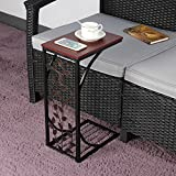 Coffee Tray Sofa Side End Table/Lap Stand TV Snack Ottoman Couch Room