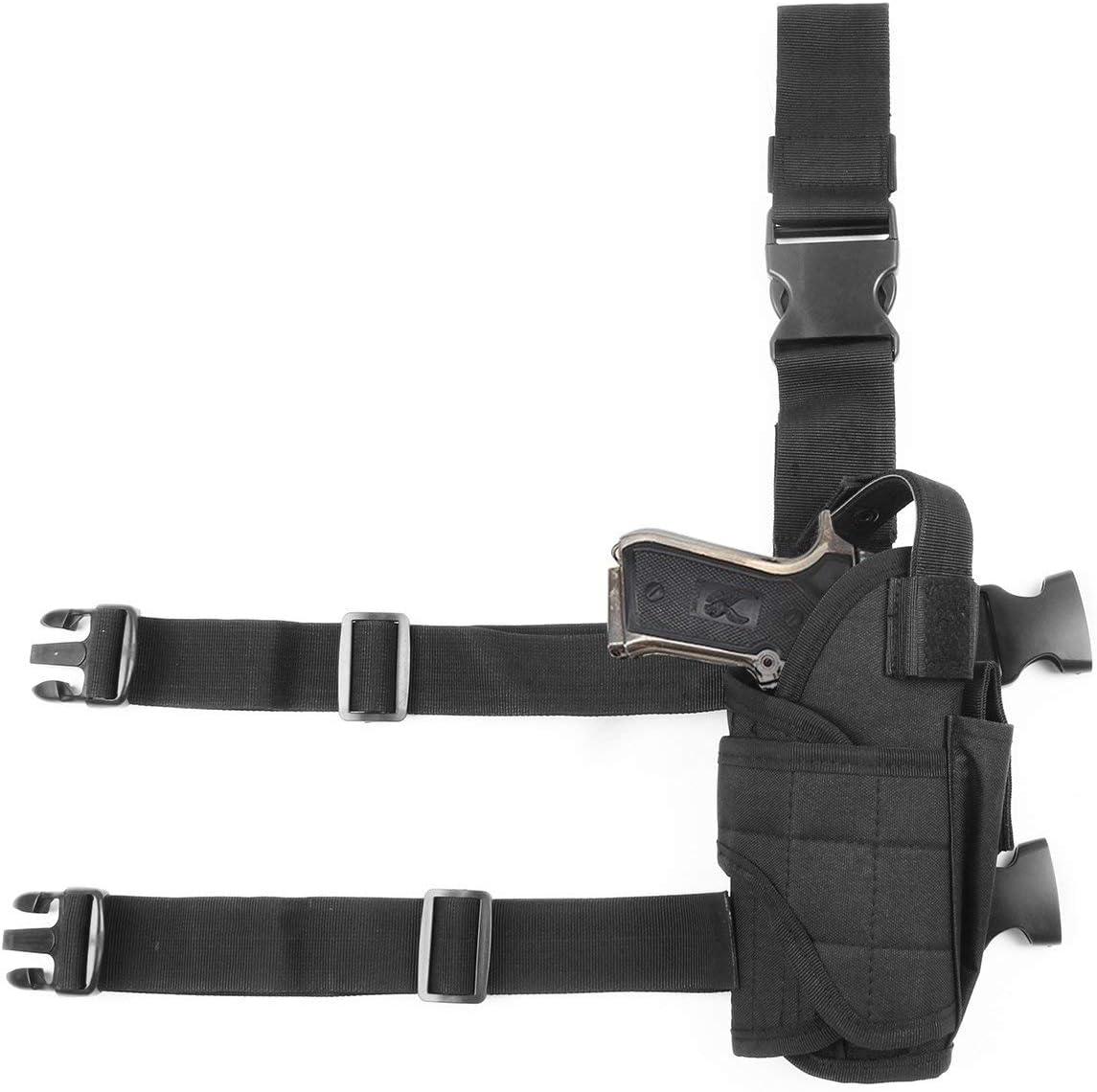 TBDLG Pistolera táctica al Aire Libre del Arma, Arma Universal táctica de la pistolera del Muslo de Airsoft para diestro
