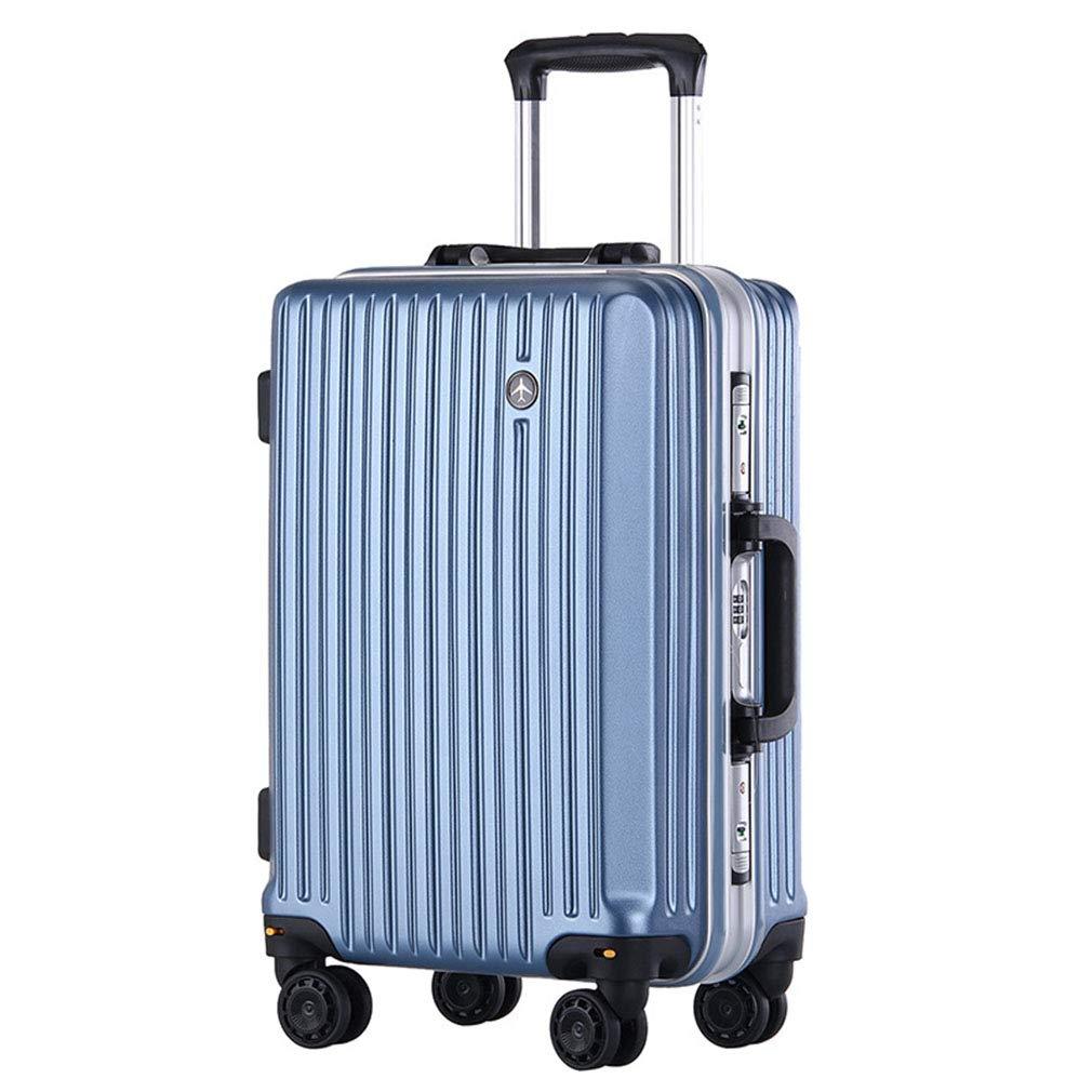 新しいスーツケースユニセックス大容量Pcトロリーケース縦型ビジネストラベルスーツケース荷物(FM),E,20inches B07SXS6VYG E 20inches