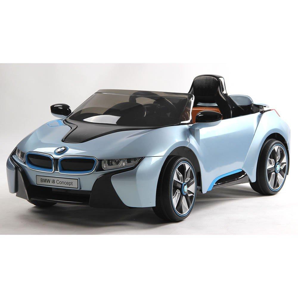 kids ride on 12v bmw i8 concept car parental remote licensed new 2015 model amazoncouk toys games