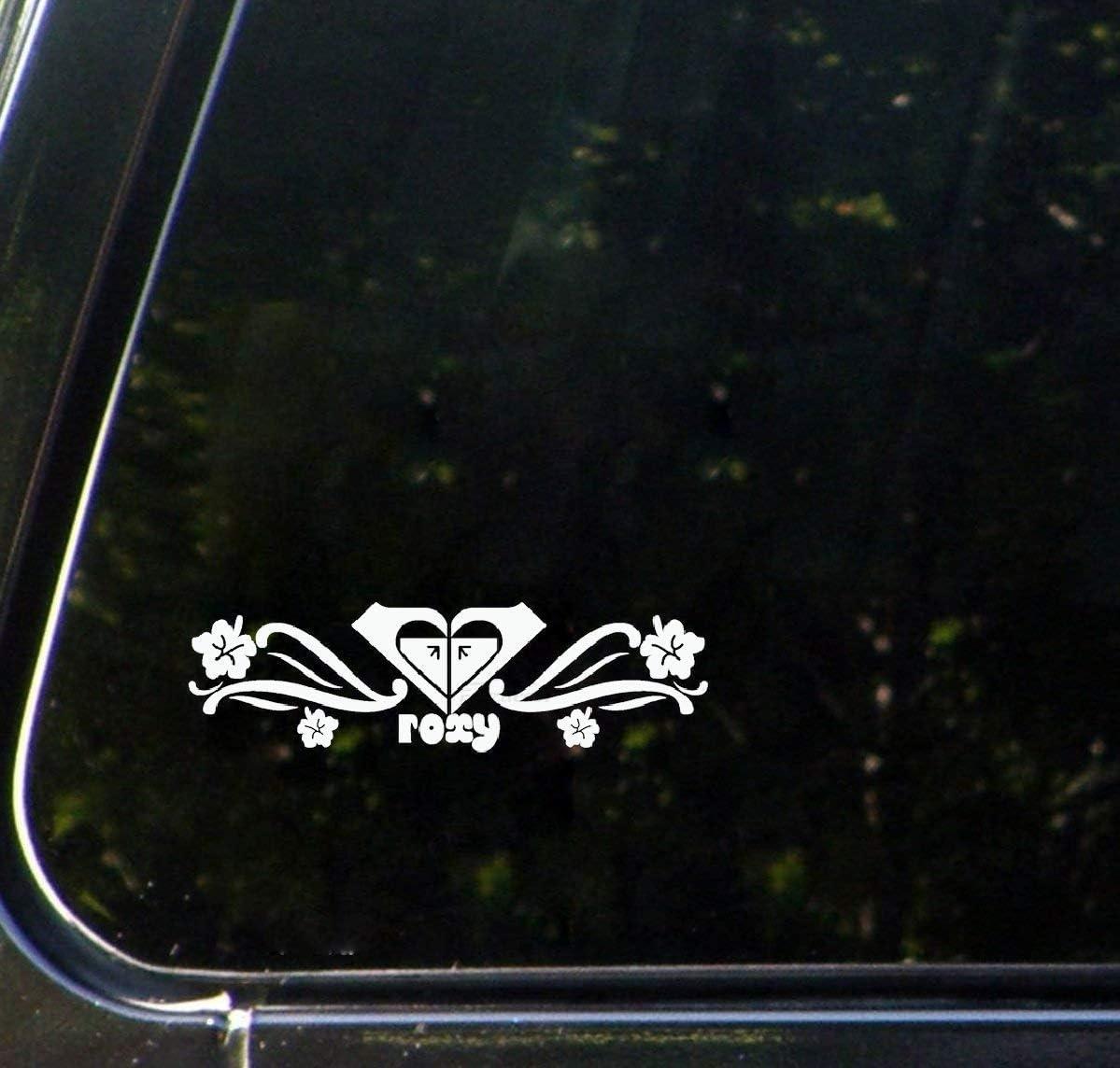 Hibiscus Flower SK8//Surf//Snow//Water//Bike//Brands Automotive Decal//Bumper Sticker