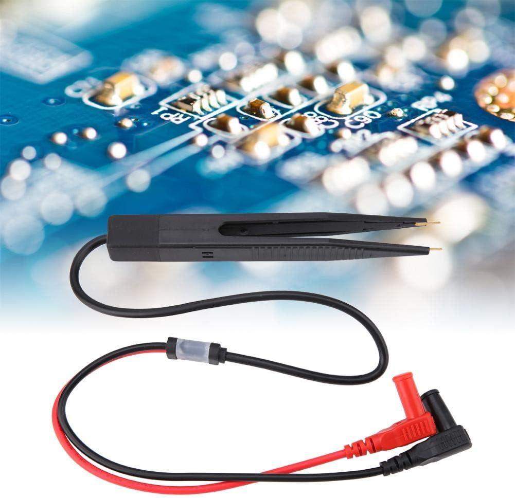 White Multimeters Probe Lead SMD SMT Chip Capacitance Test Pen Clip for Multimeter