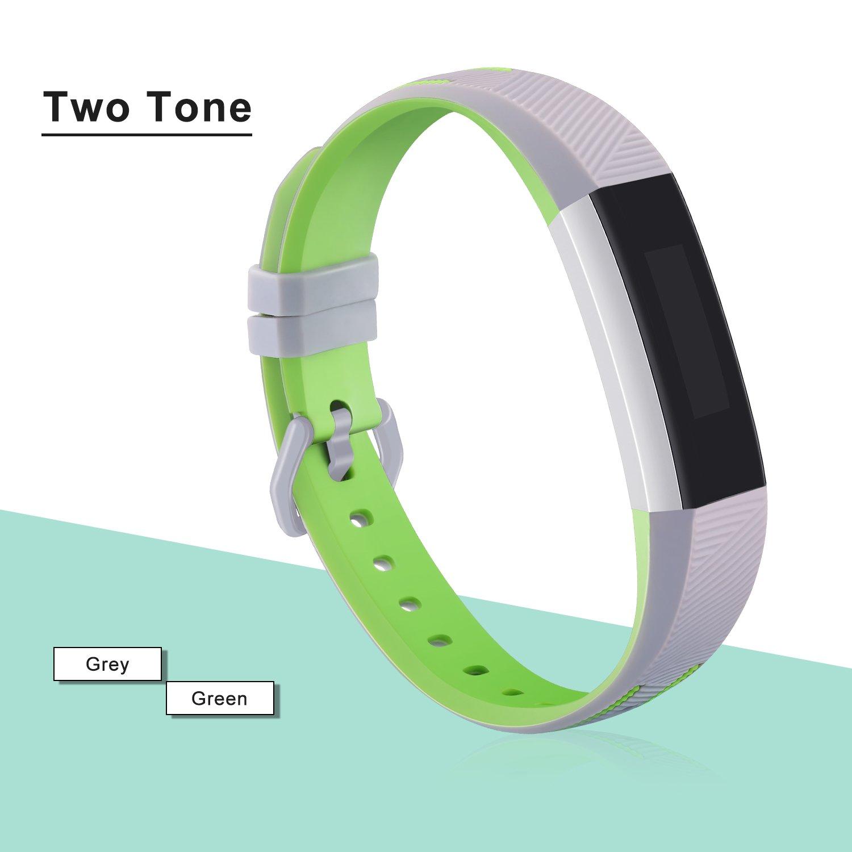 TPU Cinturino Intercambiabile Fibbia in Acciaio Inox Mornex Cinturini Compatibile Fitbit Alta HR e Alta