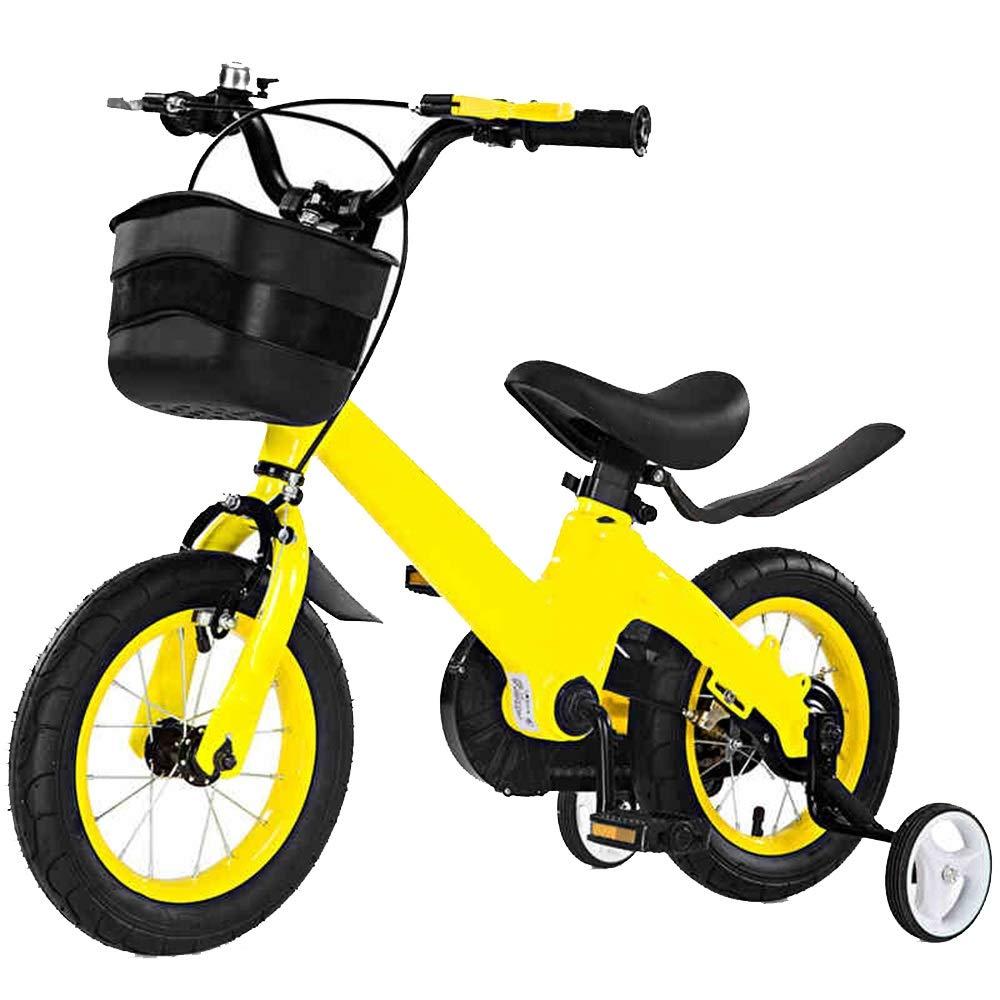marcas de diseñadores baratos 16in YUMEIGE Bicicletas Bicicletas para niños, niños, niños, con una Bicicleta de Entrenamiento para niños 12 14 16 Pulgadas Niños y niñas Ciclismo Adecuado para niños de 2 a 8 años Regalo Amarillo Disponible  moda