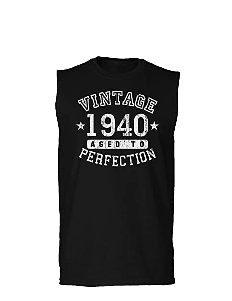 TooLoud 1940 - Vintage Birth Year Muscle Shirt Brand at