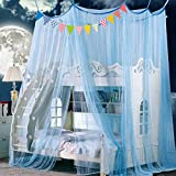 SIOFSVDFDFASDD Hammocks and cribs mosquito net,Keeps away insects & flies premium mosquito net canopy for bed princess bed canopy large screen netting bed canopy-A Queen1