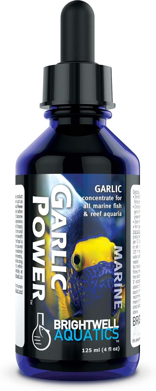 Brightwell Aquatics Garlic Power - Liquid Garlic Concentrate for Marine Reef Aquariums
