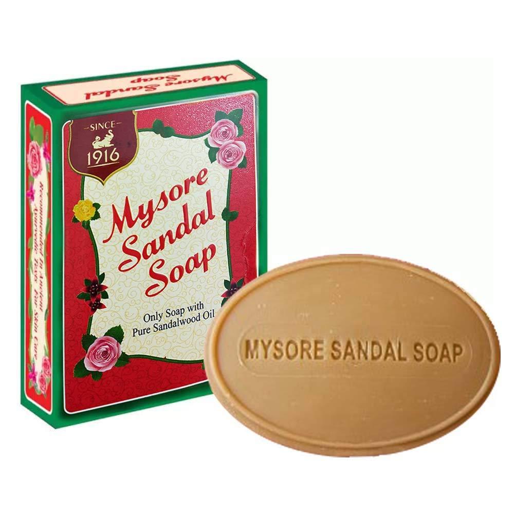 04240e27a014f Amazon.com   Mysore Sandal Soap (Pack of 4)   Bath Soaps   Beauty