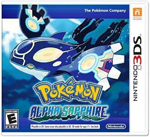 Nintendo Pokemon Alpha Sapphire [Importación Italiana ...