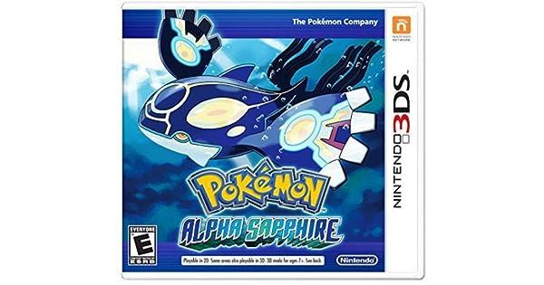 Nintendo Pokemon Alpha Sapphire - Juego (Nintendo 3DS, RPG (juego ...