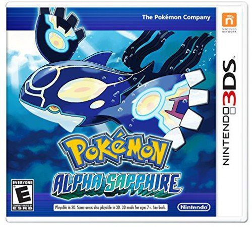Pokémon Alpha Sapphire - Nintendo 3DS (The Best 3ds Games Out Now)