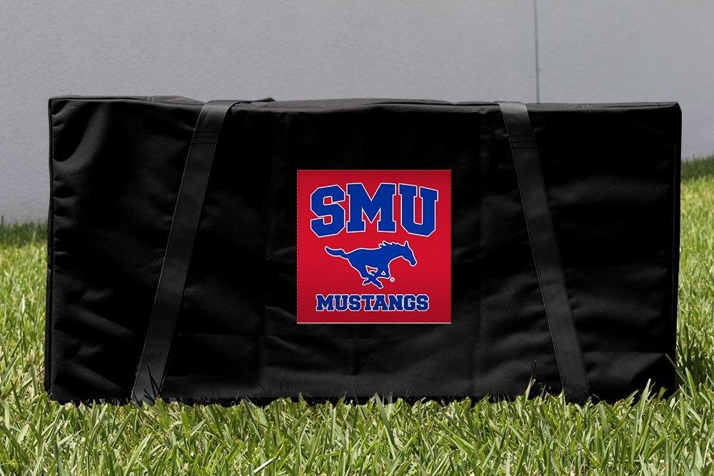 Southern Methodist Methodist University SMU B00GP37P4K Mustangs Mustangs Cornholeストレージキャリーケース B00GP37P4K, セカンドスピリッツ:d30c0762 --- sharoshka.org