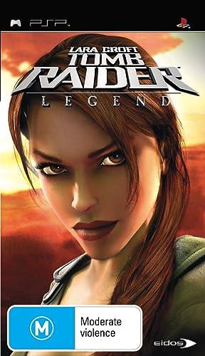 Amazon Com Lara Croft Tomb Raider Legend Psp By Eidos Video Games