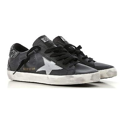 f254e5ee9e223 Golden Goose Deluxe Brand Superstar Black Women Sneakers G33WS590.H67