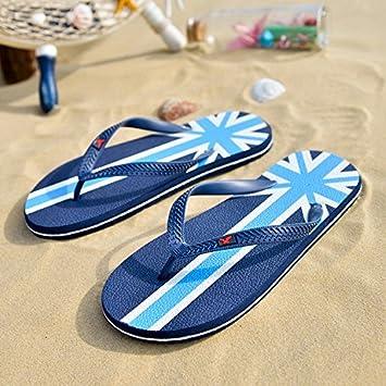 FYios Sandalias de Verano, Zapatos Casuales de los Hombres, Zapatos de Playa, Sandalias Juveniles y Zapatillas Personalizadas, Treinta y Nueve, ...
