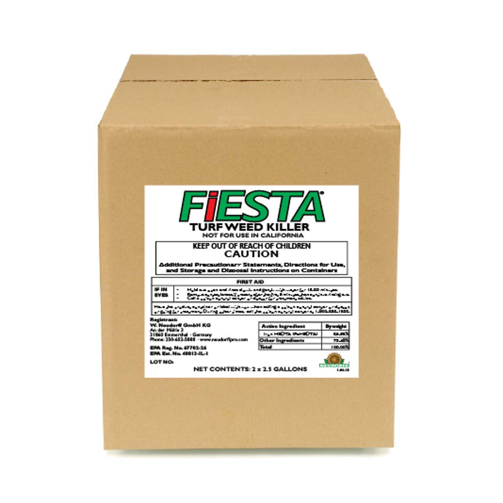 Fiesta Selective Post-Emergent Turf Weed Killer 2 x 2.5 Gallon (Case)