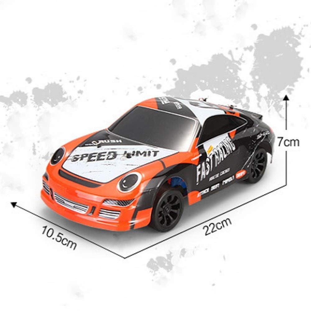 TBFEI 1/24 Remote Control Drift Sports Car 4WD Drift RC Racing RTR Children and Adult Birthday Toys Vehicle Off-Road Climbing Vehicle by TBFEI (Image #7)