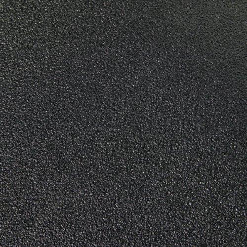 Safety-Walk Cushion Mat, Antifatigue & Antimicrobial, Vinyl, 36 x 60, Black, Sold as 1 Each